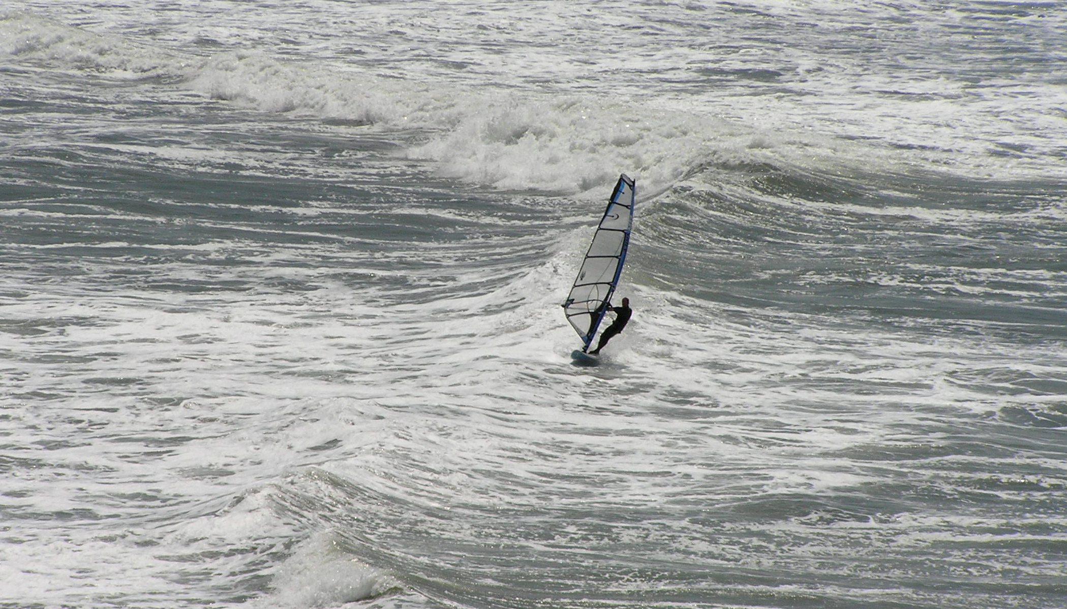 Windsurfing at Ocean Beach