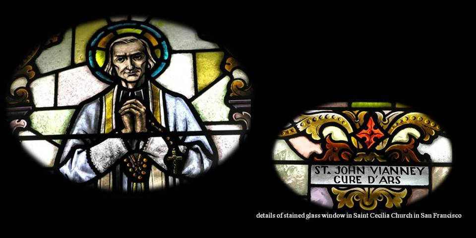 The Priesthood and Confession Stained-glass photo by Michele Szekely